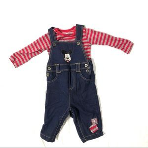 Mickey Mouse Disney Baby outfit 12 months